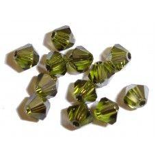 olivine swarovski cryatals