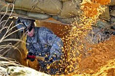 Fighting position by The U.S. Army, via Flickr