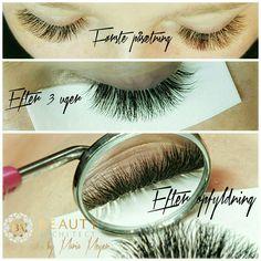 Volume lashes beautyful retention after 3 weeks. Eyelash Extensions Volume lashes. Russian Volume.  Kurser og info på www.beautyarchitect.dk