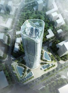 Skyscrapers: Haikou Tower by Henn Architekten, Haikou, China