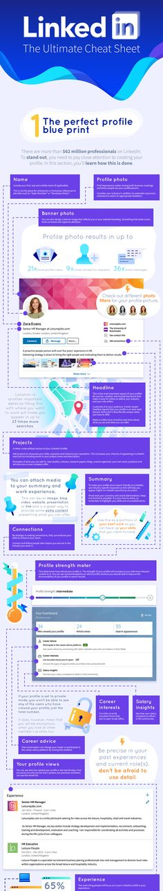 The Ultimate LinkedIn Cheat Sheet: 2019 [Infographic] – trendsname B2b Social Media Marketing, Sales And Marketing, Marketing Ideas, Linkedin Search, Snapchat Filter, Marketing Conferences, Small Business Trends, Executive Resume, Google Plus