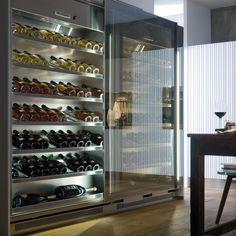 Best Wine Coolers, Malbec Wine, Wine Cabinets, Wine Fridge, Tasting Room, Wine Storage, Wine Cellar, Kitchen Interior, Kitchen Design