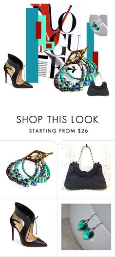 """""""NIGHT ON THE TOWN"""" by igottahaveitnecklace ❤ liked on Polyvore featuring Christian Louboutin"""