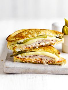 This West Coast version of a deli sandwich uses smoked turkey rather than pastrami. This makes more coleslaw than you'll need for the sandwiches but it'll keep for 2-3 days in the fridge.
