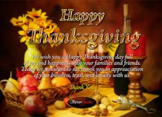 thanksgiving day wishes to parents