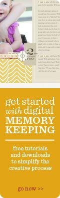 Ali Edwards--Getting Started With Digital Scrapbooking; tutorials and videos