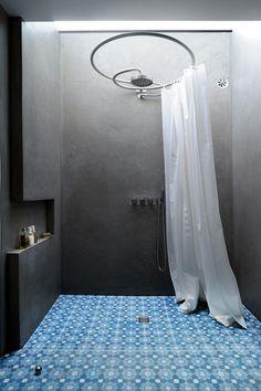 Une douche royale en tadelack