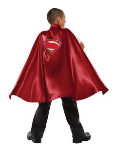 Dawn Of Justice Deluxe Superman Costume Cape Child One Size