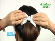 ♡Easy Hairstyle  Tutorial Hairstyle For Long Hairstyle For Short♡