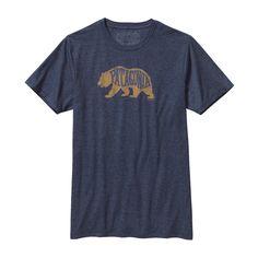 Patagonia Men's Bear Heaven Cotton/Poly T-Shirt