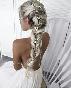 40 top hairstyles for blondes - Neueste Frisuren Haar 2018 - Wedding Hairstyles Top Hairstyles, Pretty Hairstyles, Braided Hairstyles, Wedding Hairstyles, Hairstyle Ideas, Feathered Hairstyles, Medium Hairstyles, Everyday Hairstyles, Hairstyle Braid