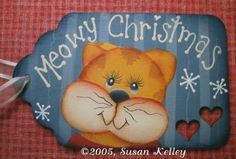 Meowy Christmas ePattern #242005