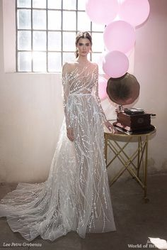 Lee Petra Grebenau 2018 Princess silhouette wedding gown