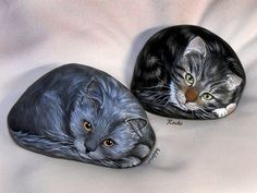 CHABICHOU et AMIE by rockpainting , yvette, via Flickr