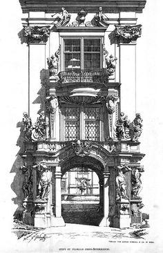 archimaps:  Entrance to the St. Florian Stift, Austria