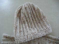 351c4125bf1 Un ensemble bonnet et snood Tweed - La Malle aux Mille Mailles