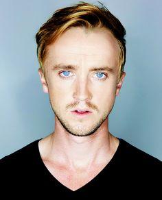 Tom Felton. Damn look at those eyes!