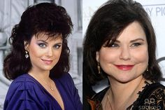 Now and then on pinterest plastic surgery celebrity for What does delta burke look like now