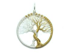 FREE SHIPPING Tolkien inspired wire wrap tree pendant, Trees of Valinor, Silmarillion, Laurelin and Telperion (small) by JessyHerc on Etsy https://www.etsy.com/listing/268977537/free-shipping-tolkien-inspired-wire-wrap