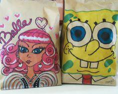 Babes In Blogland: ❤❤❤ Lunch Bag Art ❤❤❤