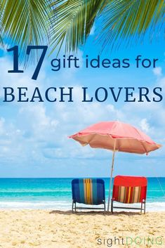These beach gifts are perfect for Christmas, summer getaways, birthdays, and other occasions. Grab the perfect gifts for beach lovers no matter your budget. Caribbean Vacations, Beach Vacations, Beach Trip, Beach Vacation Outfits, Beach Gifts, Beach Reading, I Love The Beach, Beach Accessories