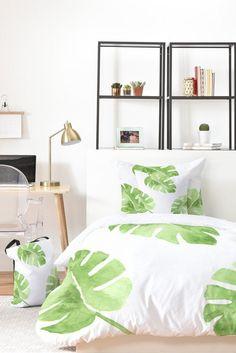 Split Leaf Bed-in-a-Bag Bedding Set | Comforter | Wonder Forest