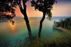 Miner's Rock, Pictured Rocks National Lakeshore, Michigan