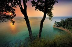 Miner's Rock, Pictured Rocks National Lakeshore, Michigan