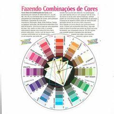 Círculo cromático www.acasadoartista.com.br R$ 22,40