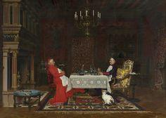Leo Herrmann (1853-1927) —  The Cardinal's  Dinner (1707x1219)
