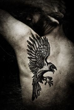 The Raven, pro-photo by Meatshop-Tattoo.deviantart.com on @deviantART
