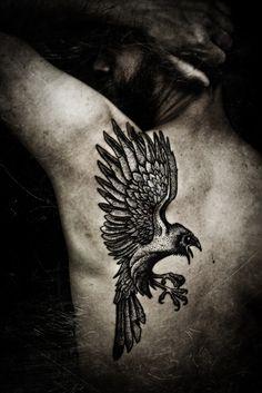 The Raven, pro-photo by Meatshop-Tattoo.deviantart.com on @deviantART