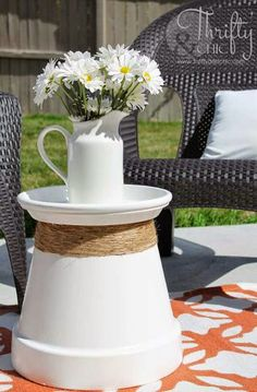 100 Best DIY Outdoor Patio Ideas - - Brighten up your boring patio with these DIY patio ideas. From patio furniture to patio flooring ideas, there's a project for every inch of your patio. Outdoor Projects, Garden Projects, Diy Projects, Backyard Projects, Diy Backyard Ideas, Garden Crafts, Inexpensive Patio Ideas, Outdoor Patio Ideas On A Budget Diy, Diy Front Porch Ideas