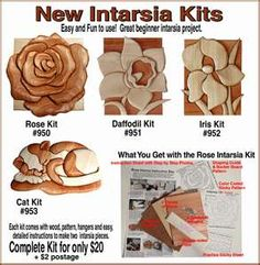 Intarsia Wood Kits
