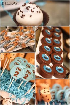 """Photo 1 of 40: Birthday """"Cookie Monster - Jael turns 2!""""   Catch My Party"""