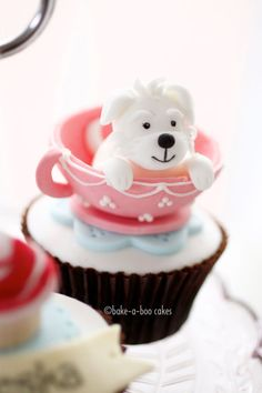 Cute Doggy Cupcake ♡