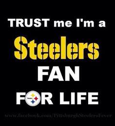 STEELERS Fan For Life