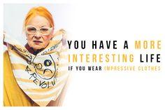 Vivienne Westwood on Clothes