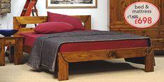 Warren Evans bed Danish Bedroom, Warren Evans, Mattresses, Handmade Wooden, Bed Frame, Furniture, Home Decor, Bed Base, Decoration Home