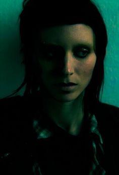 The Girl With The Dragon Tattoo // Lisbeth Salander // Rooney Mara