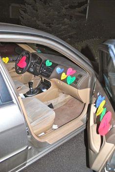 post it notes car #boyfriendgift
