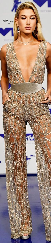 Hailey Baldwin MTV VMAs 2017 Tucson, Hailey Baldwin Style, Haute Couture Fashion, Celebrity Outfits, Zuhair Murad, Red Carpet Fashion, Metallica, Stylish Outfits, Dress To Impress