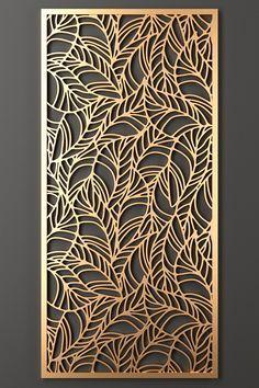models: Other decorative objects - Decorative partition Decorative Metal Screen, Decorative Panels, Decorative Objects, Laser Cut Screens, Laser Cut Panels, Wall Panel Design, Partition Design, Gate Design, Door Design