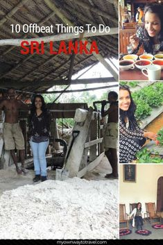 10 Offbeat Things To Do In Sri Lanka - 10 offbeat things you might like to explore for the first time in Sri Lanka during your trip. Africa Travel, India Travel, Travel Nepal, Ways To Travel, Travel Tips, Travel Destinations, Cambodia Beaches, Tokyo Japan Travel, Visit China