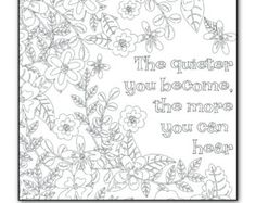 Printable Motivational Coloring Page For Adults PDF By ToColor