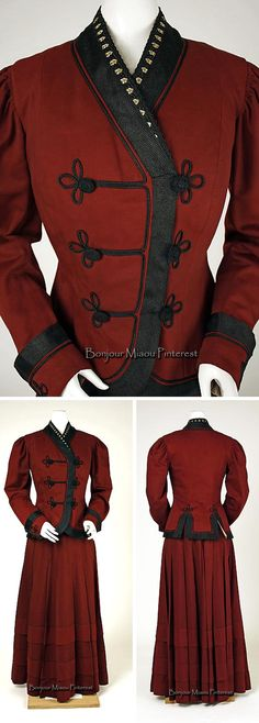 Suit, probably American, ca. 1907. Wool. Metropolitan Museum of Art
