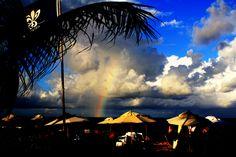 Rainbow in Trancoso Brasil