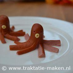 Afbeelding van de traktatie Octopus van knakworst