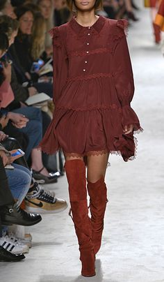 Chevron Lace Button Up Dress by Philosophy di Lorenzo Serafini for Preorder on Moda Operandi