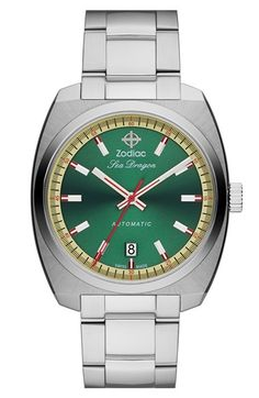 Zodiac 'Sea Dragon' Automatic Bracelet Watch, 39mm available at #Nordstrom